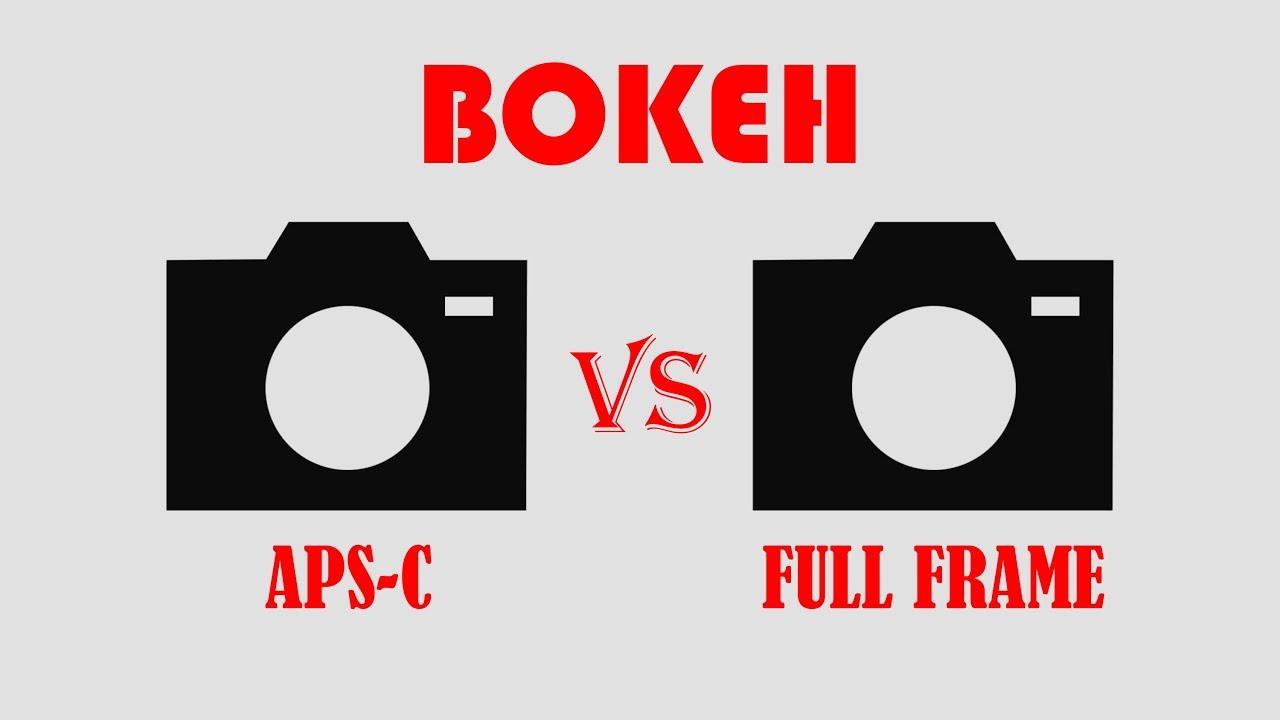 Bokeh on Full Frame Camera vs APS-C Camera
