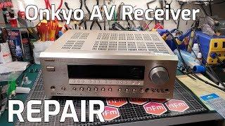 Onkyo AV Receiver Repair