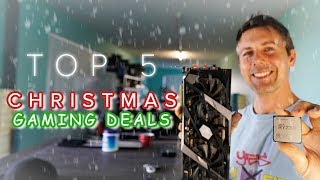 Top 5 GAMING CPU and GPU COMBOS for Christmas!