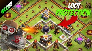 Clash Of Clans - TH11 FARMING BASE LOOT PROTECTION BASE