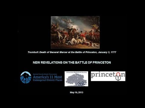 "(2103) New Revelations on the Battle of Princeton fought on January 3, 1777 ""Part 2"""