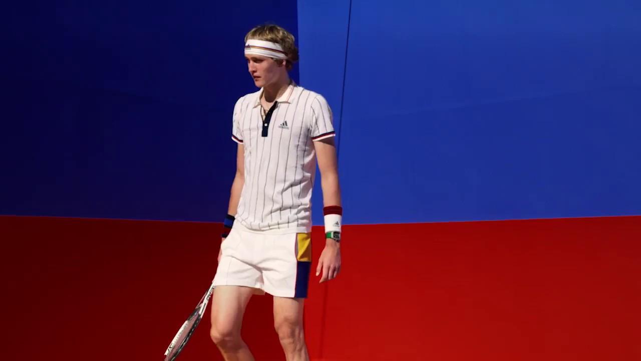 With Sportsshoes Zverev Youtube Adidas Forehand The Sascha Tennis 1zT5B8xqn