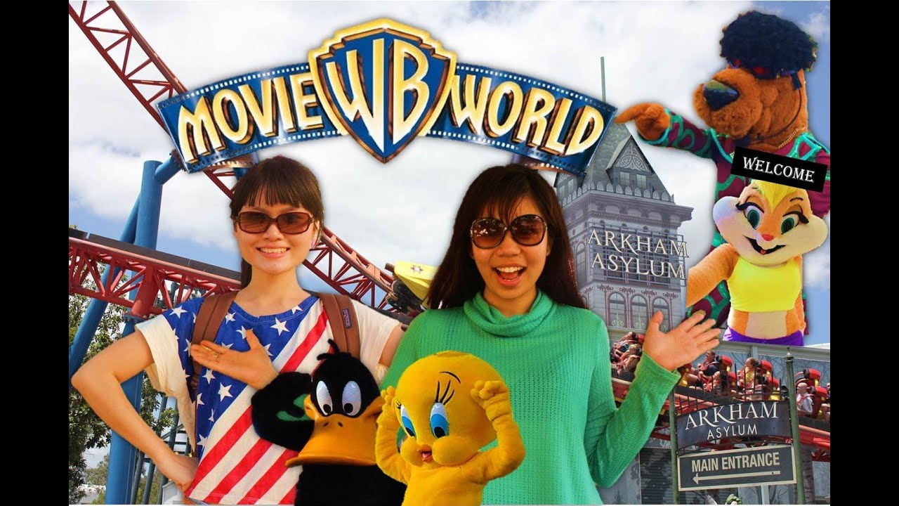 warner bros movie world gold coast australia youtube