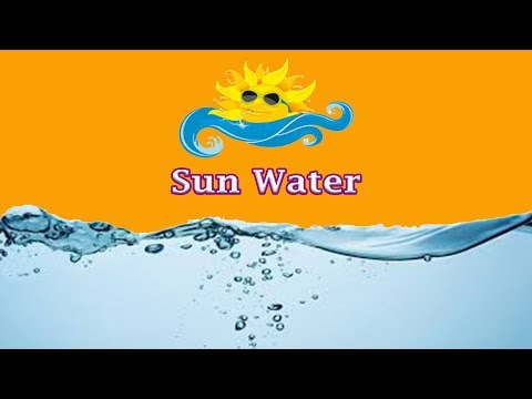 Sun Water (How to Alkalize your water naturally)