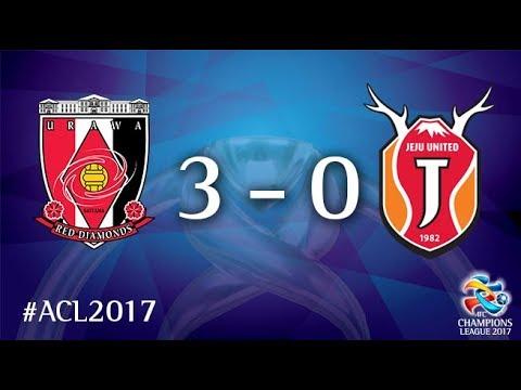 Urawa Red Diamonds vs Jeju United (AFC Champions League 2017 : Round of 16 - 2nd Leg)