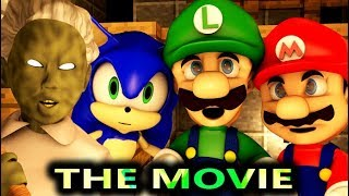 Download GRANNY VS SONIC & MARIO THE MOVIE! (official) Minecraft Horror Game Animation Video Mp3 and Videos