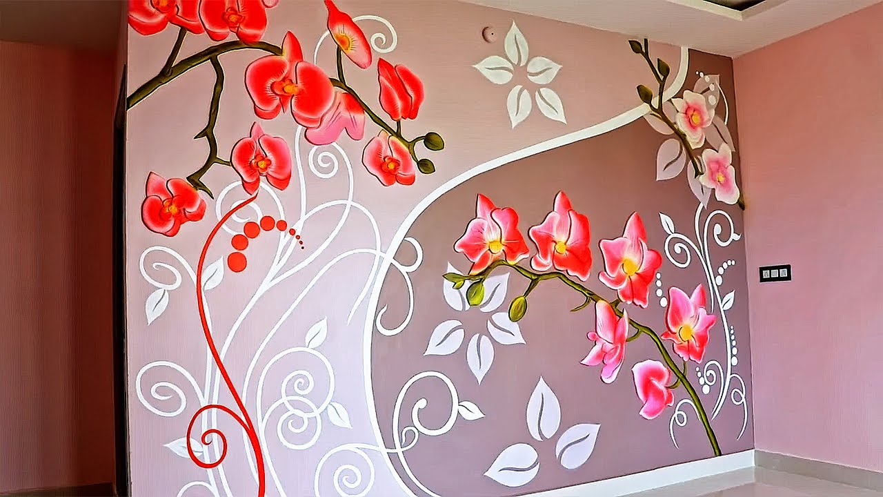 wall putty design kaise kare