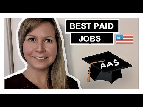 5 Top best paid Jobs with an Associates Degree