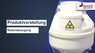 Radonabsaugung