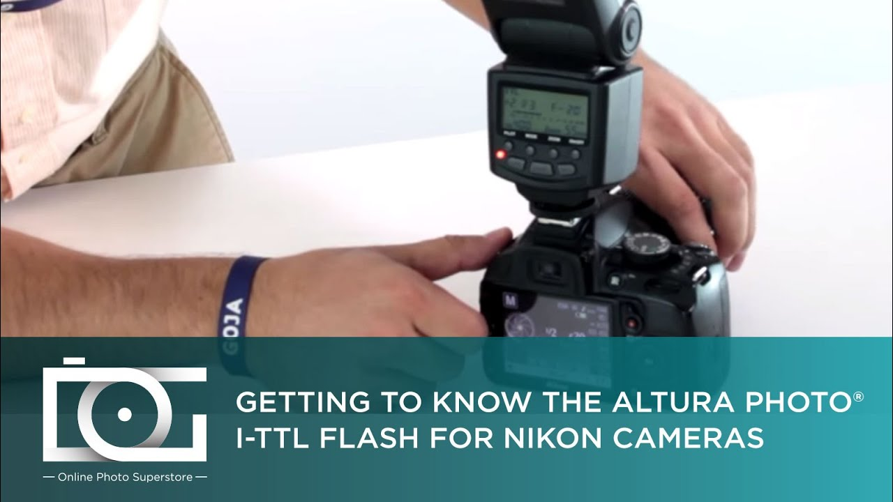Tutorial How To Use The Altura Photo I Ttl Flash For Nikon Cameras