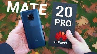 Камера Huawei Mate 20 Pro уничтожает: сравнение с P20 Pro и распаковка