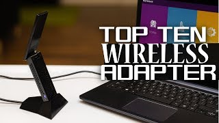 10 Best Wireless Adapters 2019 - Best USB WiFi Adapter For Gaming