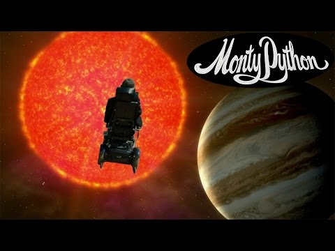 Stephen Hawking Sings Monty Python… Galaxy Song (Music Video)