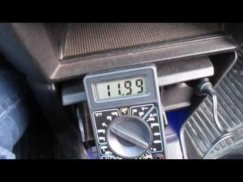 Как проверить производительность генератора на любом авто