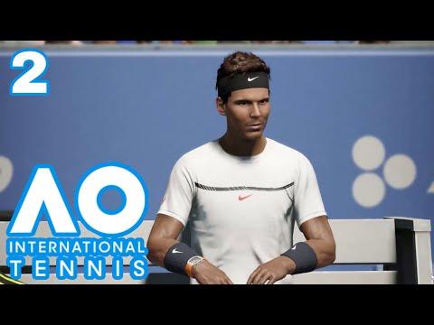 AO International Tennis PC Deutsch #02 - Mein erster Wettbewerb