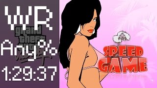 Speed Game - Grand Theft Auto : Vice City - GTA Vice City fini en 1:29