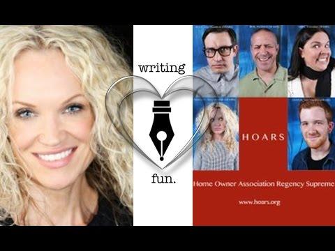 Writing Fun  Ep. 52 : Screen Writing  Acting  and Book Writing with Camilla Outzen Rantsen