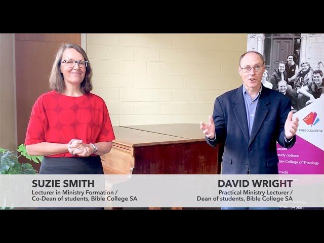 Studying at BCSA  I  David Wright and Suzie Smith