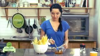 Cách làm món Ngô nướng chanh ớt kiểu Mexico (Grilled Corn Mexican Way)