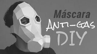 Cómo hacer una Máscara Anti-gas con Papel opalina | Momuscraft