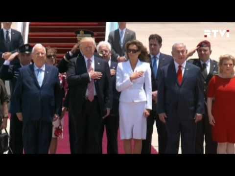 Трамп в Израиле озвучил свое видение мира на Ближнем Востоке