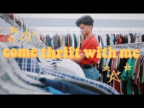 Come Thrift With Me | VINTAGE STYLE + Try On | Great Finds! 2018