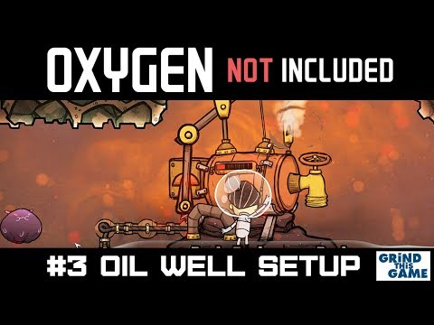 Oil Well and Petroleum Generator Setup - New Oil Base - Oxygen Not Included Oil Upgrade  #3 [4k]