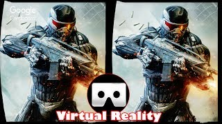 3D Crysis 2 - VR Virtual Reality Vídeo Google Cardboard VR Box