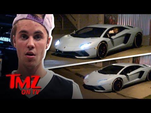 Justin Bieber's Lambo Causes Problems | TMZ TV
