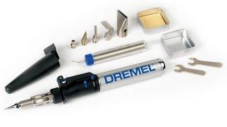 Газовый паяльник Дремель DREMEL. Небольшой обзор, ремонт.