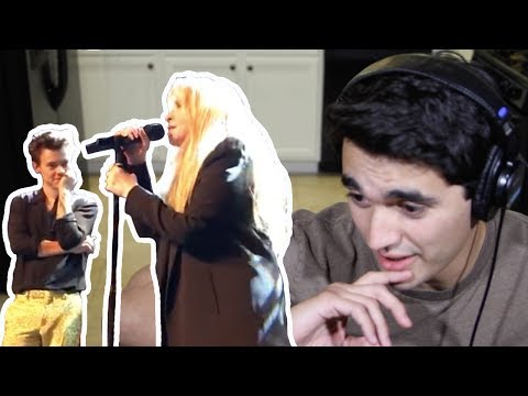 Leather and Lace - Harry Styles and Stevie Nicks REACTION