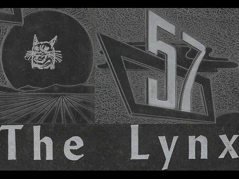 1957 Spearman High School yearbook: The Lynx