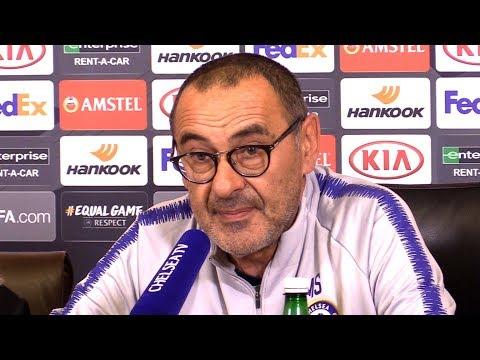 Maurizio Sarri Full Pre-Match Press Conference - Chelsea v BATE Borisov - Europa League