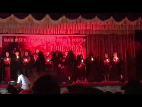 Mahe dental college 2017 freshers day entry dance(Rakth charitra) by team TROEZIENZ😍✌🏻️