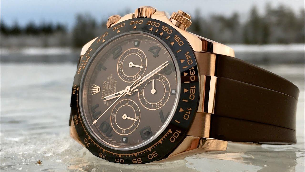 Rolex Daytona Gold 116515ln Youtube