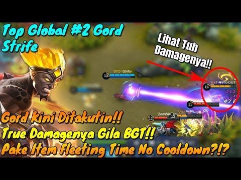 Gord Kini Ditakutin!! True Damagenya Menggila!! by Top 2 Global Gord Mobile Legends