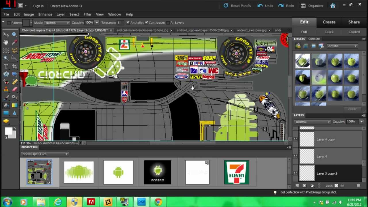 How to make an iracing paint scheme using photoshop Paint software free download