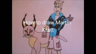 How to draw Martin Kratt  easy drawing for kids