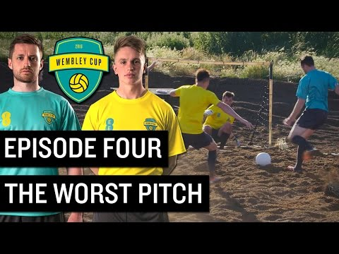 WORLD'S WORST FOOTBALL PITCH! - WEMBLEY CUP 2016 #4