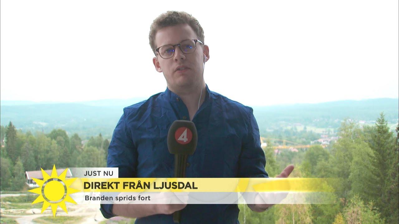Krisläget i landet - bränderna går inte att släcka - Nyhetsmorgon (TV4)