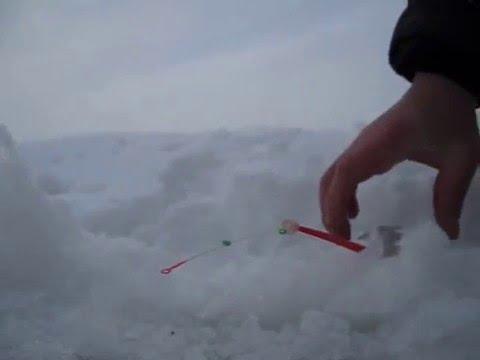 Зимняя рыбалка 17.01.16. Тагильский пруд.