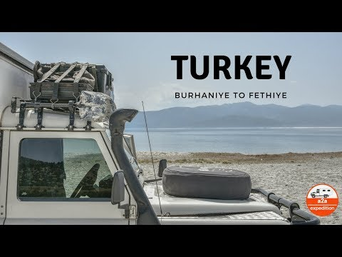 Overland Travel from Burhaniye to Fethiye in Turkey