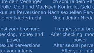 Repeat youtube video Nachtmahr - Alpha & Omega (Lyrics In Video)