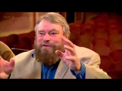 Stephen Fry and Brian Blessed in USES AND ABUSES