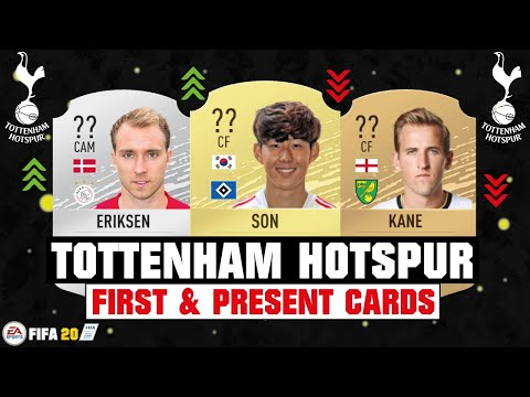 FIFA 20 | TOTTENHAM HOTSPUR FIRST AND PRESENT CARDS 🧐💯| FT. SON, KANE, ERIKSEN... etc