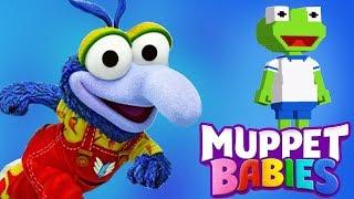 Muppet Babies Gonzo & Kermit Summer Arcade Mini Games - Disney Junior App For Kids