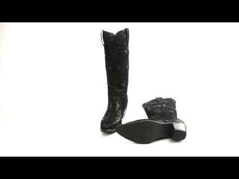 Roper Rock Star Western Boots - Faux Leather, Pointed Toe (For Women)