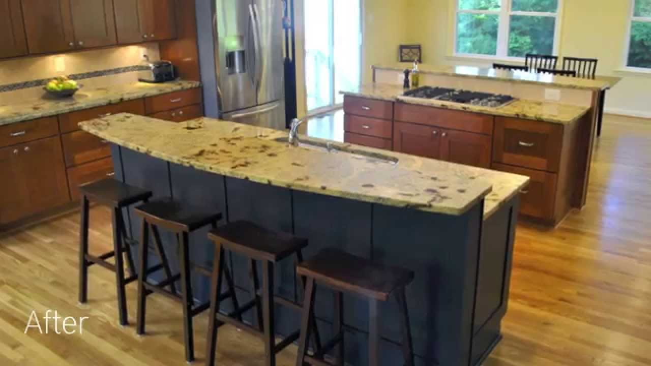 Before And After   Kitchen Addition In Fairfax   Northern Virginia  Remodeling   YouTube
