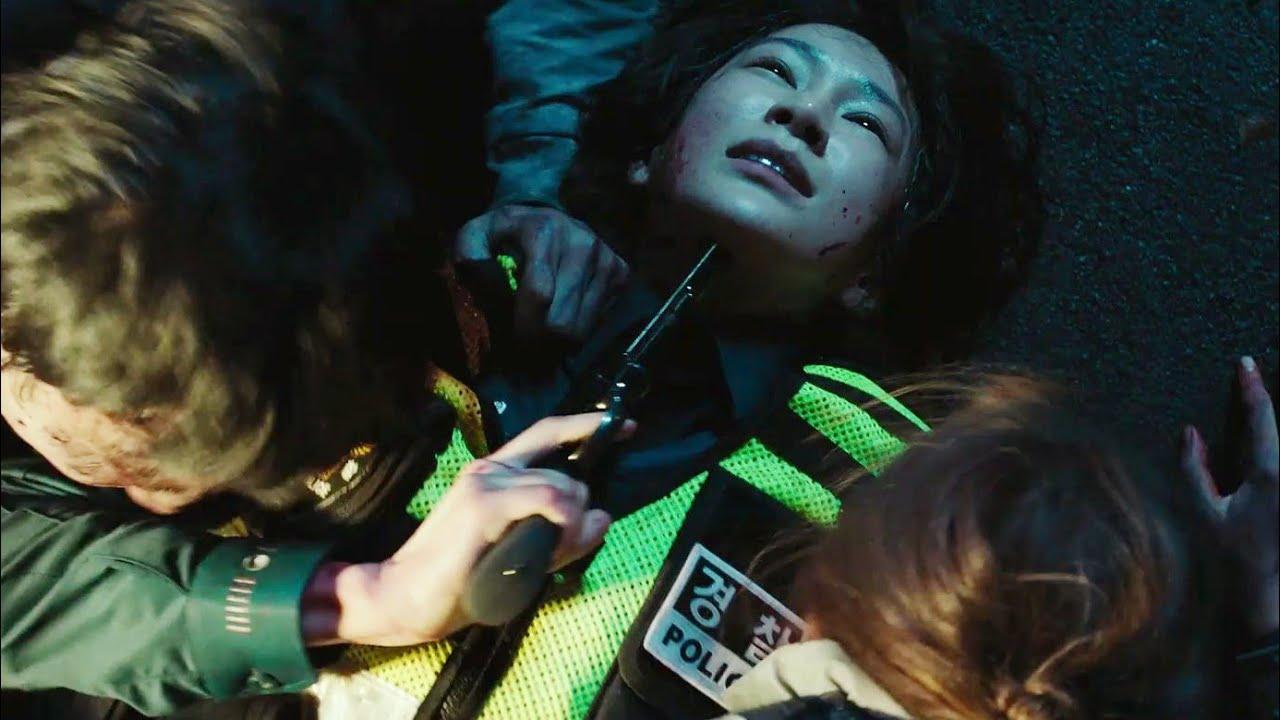 #Alive (2020) - Cena da Policial Zumbi | Cena Filmes