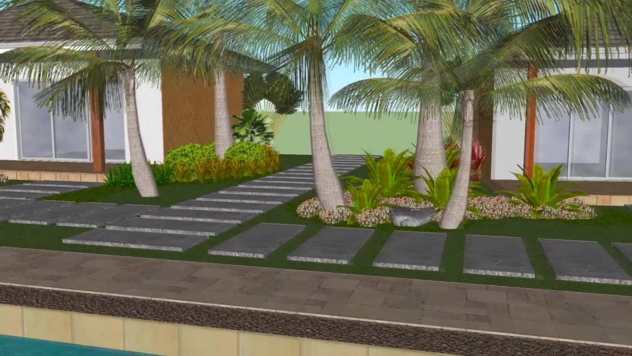 Cadlao resort restaurant landscape design video for Hotel landscape design
